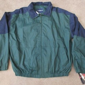 NEW NWT Vintage 90s HOLLOWAY Jacket Mens XL Green
